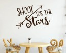Shoot for the Stars with Arrow Quote