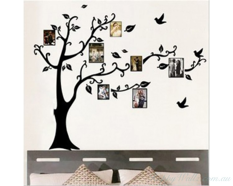 Photo Frames Family Tree Wall Sticker