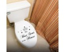 The Best Seat Decal Bathroom Toilet Sticker