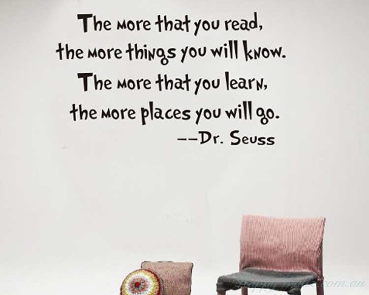 Read and Learn--  Dr. Seuss Quotes
