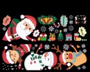 Christmas Door and Shop Window Decoration-Holiday Decal