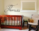 Personalised Children's Name Wall Decal - Girls' Name - Boys' Name