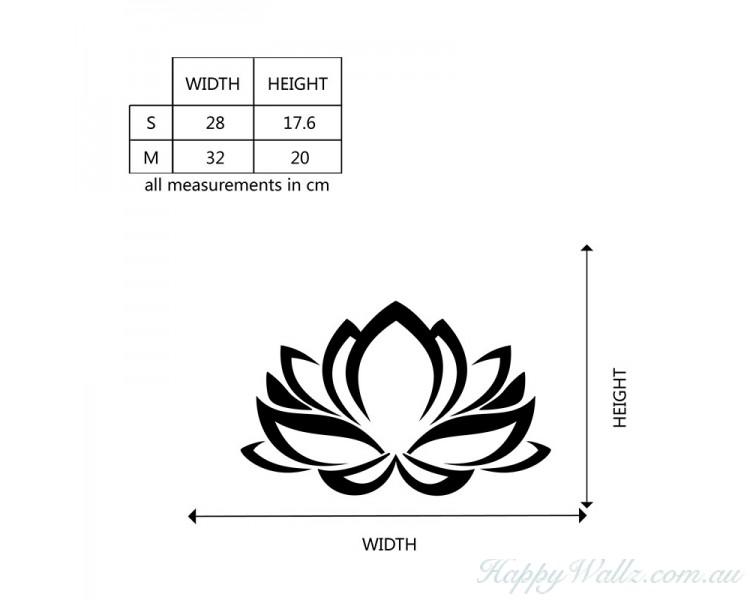 Flower laptop decal lotus flower decal lotus macbook decal mightylinksfo