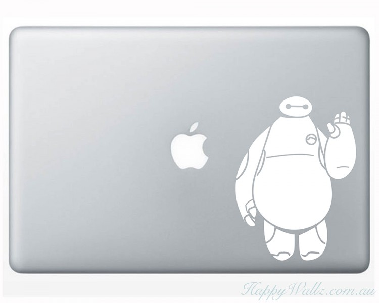 Baymax Inspired Vinyl Decal for MacBook / Laptop / Gadget / Car / SUV / More
