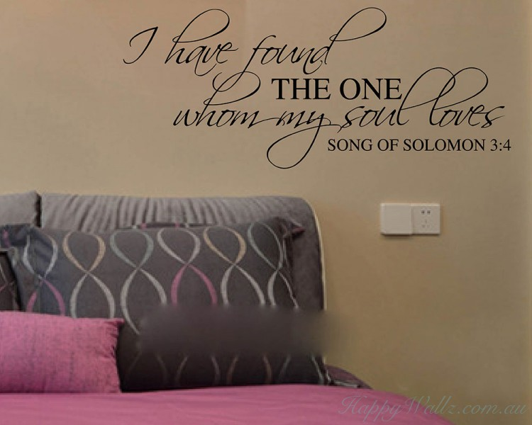 I Have Found the One Whom My Soul Loves-A wedding invitation Decor-love wall art