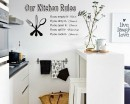Kitchen Rules - Dining Room Decor - Kitchen Decor - Gift for Mom or gift for grandma