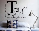 Couples Name Custom Decal
