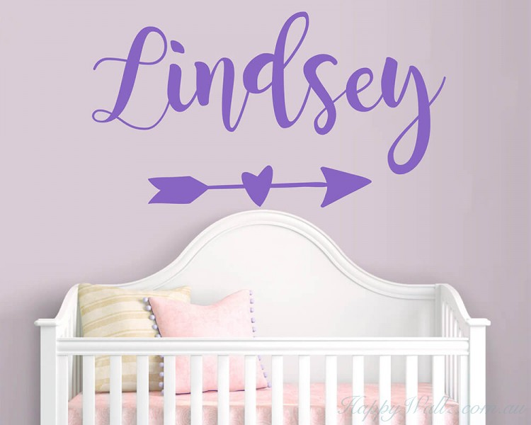 Personalised Name with Arrow Decal
