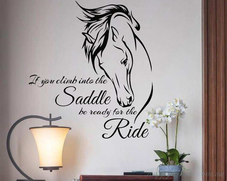 Horse Quote Decal