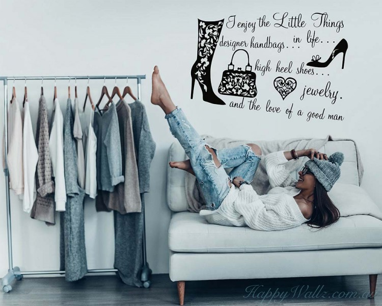 Closet Quote Decal