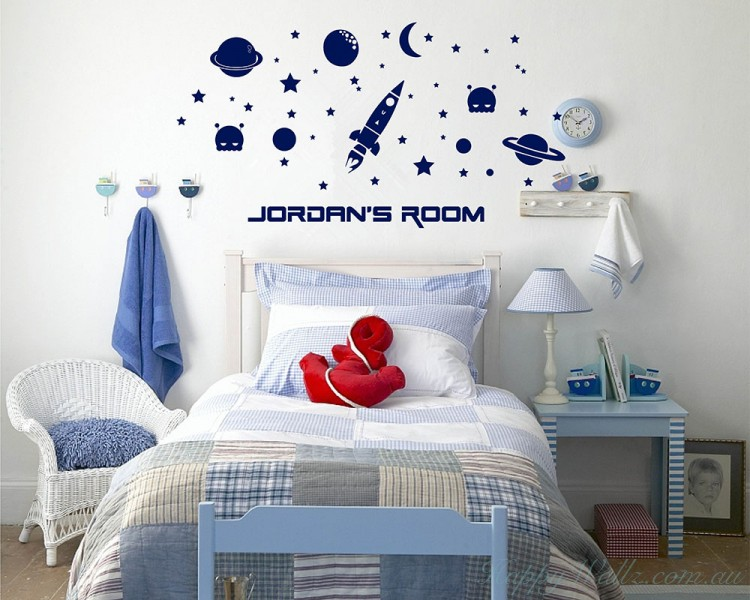 Outer Space Wall Decal
