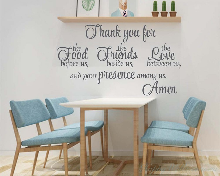 Thanksgiving Decor Wall Quote