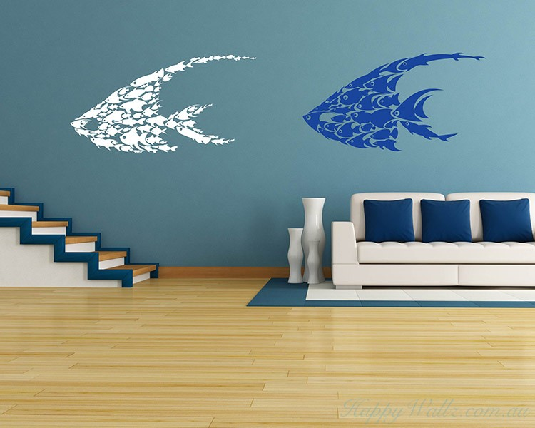 Fishes Wall Decal  For Kids