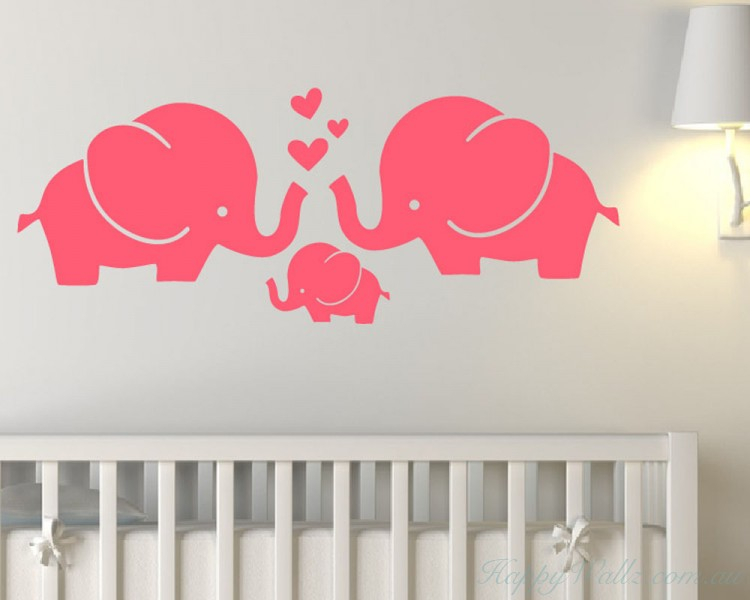 Elephant Family with Love