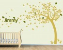 Tree Decal with Customised Name Art Decal