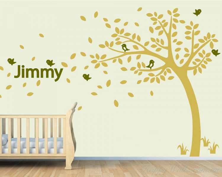 Customised Name Tree Decal