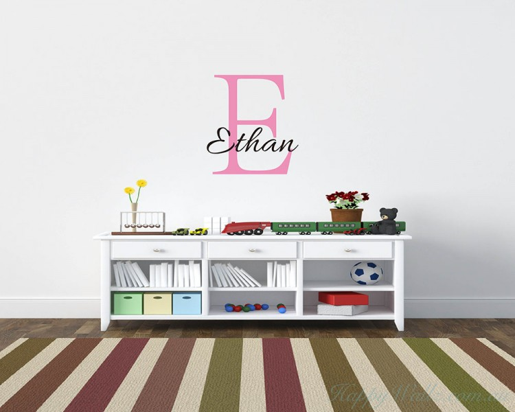 Customised Name Wall Decal