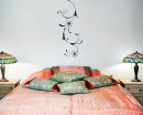 Gorgeous Floral Vines  Decals Modern Wall Art