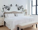 Coupled Floral Vines Decals Modern Wall Art