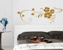 Beautiful Flowers Wine Wall Decals
