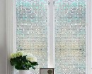 Mosaic Frosted Window Stickers