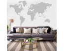 Map of the World  Wall Art Sticker