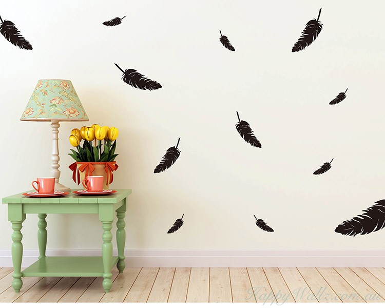 Feathers Decal