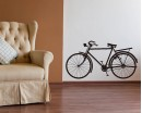 Bicycle  Modern Wall Art Sticker