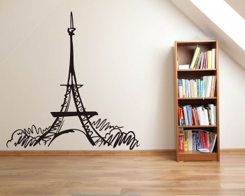 Eiffel Tower Modern Wall Art Sticker