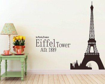 Paris Wall Decals Vinyl Wall Art Stickers - Vinyl wall decals australia