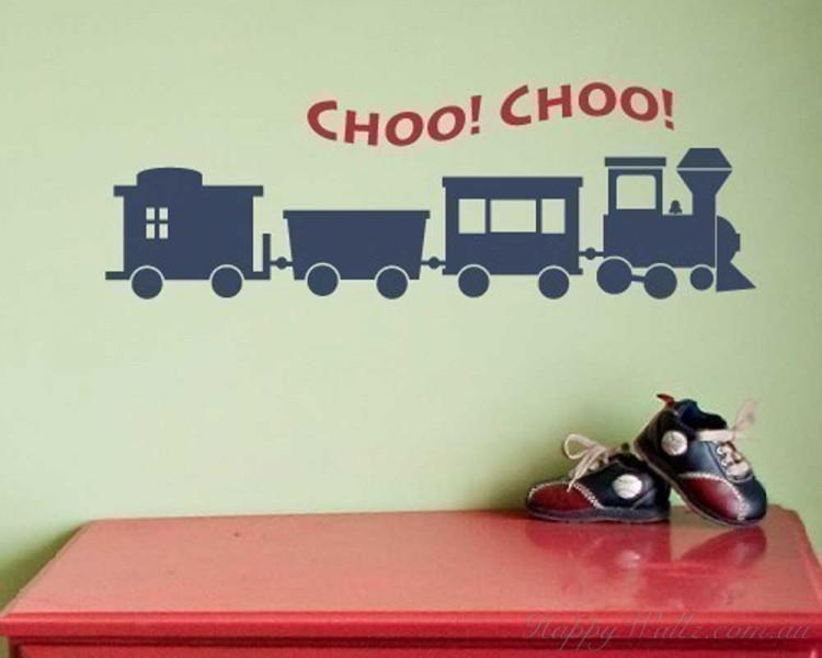 Little Train Nursery Decal