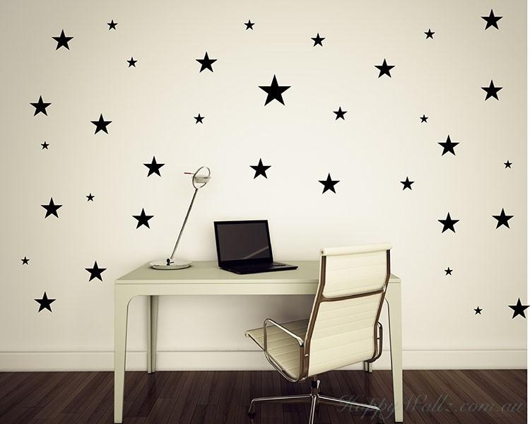 Stars Wall Pattern · Stars Wall Sticker