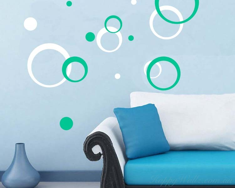 Concentric Circles Wall Decal