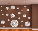 Flowers Pattern Wall Sticker