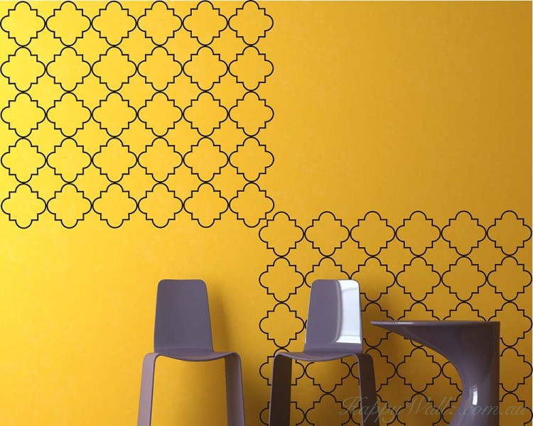 Moroccan Seamless Pattern  Decals