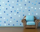 Polka Dots - Multi Colours Pattern Wall  Sticker