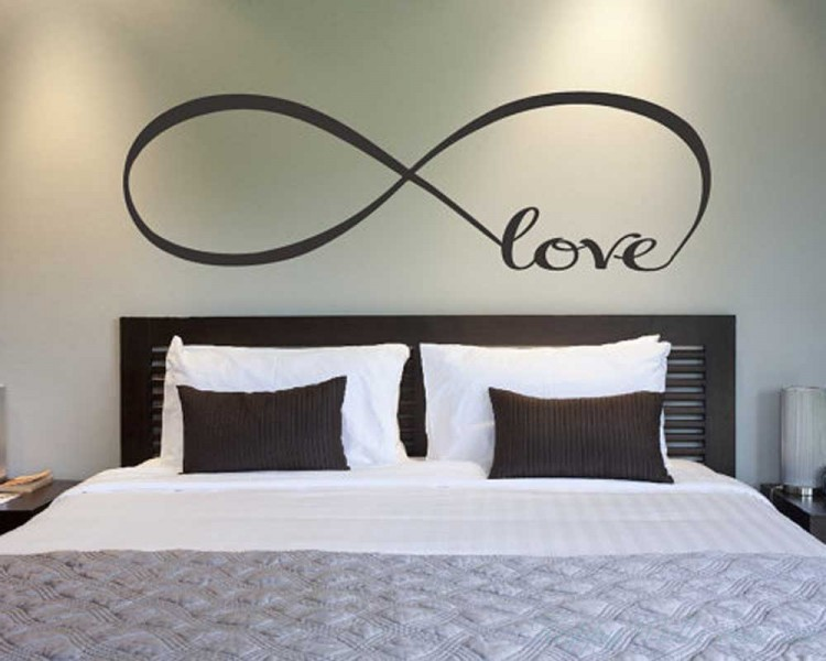 Infinity Love  Quotes Wall Art Stickers