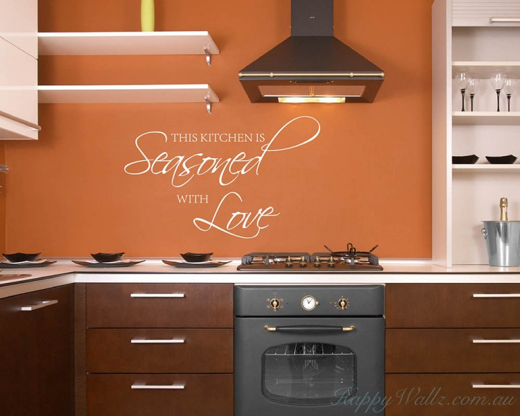 Kitchen Wall Quotes Wall Art Stickers