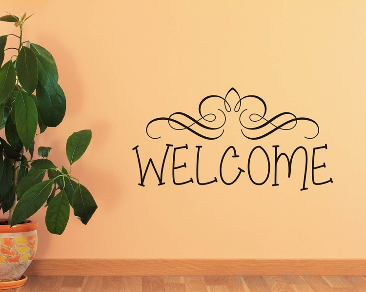 Welcome Quotes Wall Art Stickers
