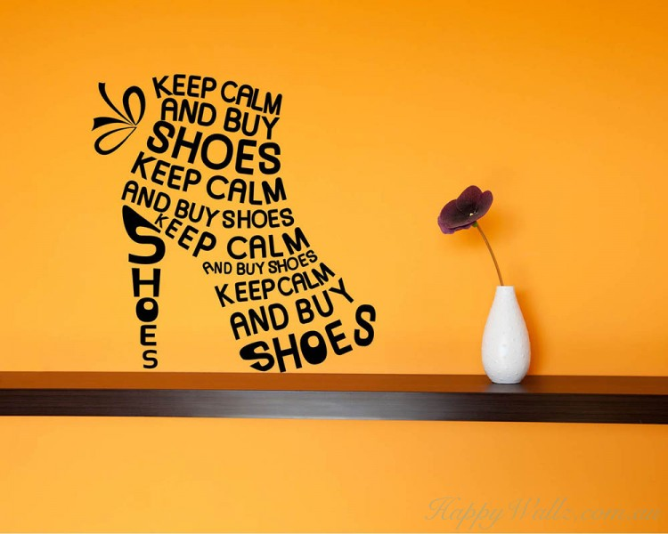 Keep Calm Quotes Wall Art Stickers