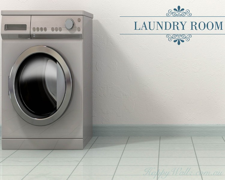 Laundry Room Quotes Wall Art Stickers