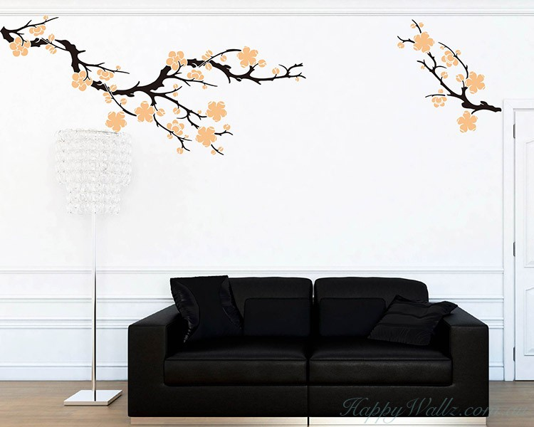 Plum Blossom Wall Decal Part 94
