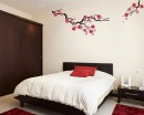 Plum Blossom Wall Decal Tree Art Stickers