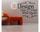 Create Your Own Words - Custom Wall Decal