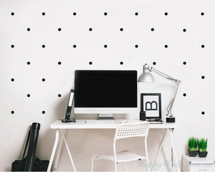 polka dots wall decal pattern wall sticker polka dot wall stickers amp decals for the modern nursery