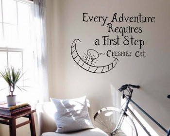 Welcome To Our Fairy Tale Vinyl Decal Wall Sticker Words Lettering Quote Art