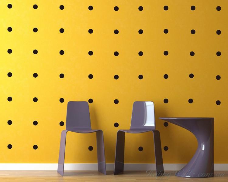 Polka Dots Wall Decal Pattern Wall Sticker