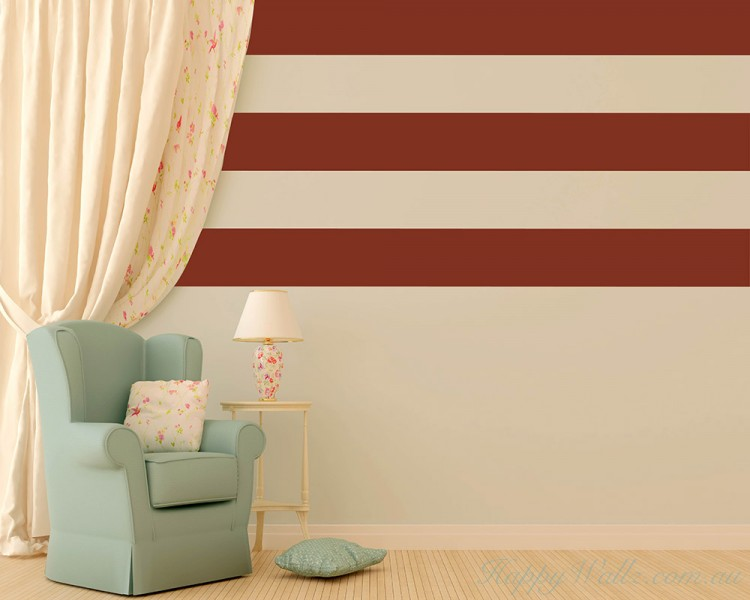 stripe wall pattern art stickers stripes wall sticker vinyl impression
