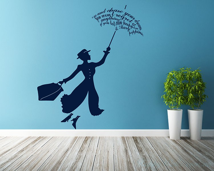 Movie Star Silhouette Wall Art Sticker