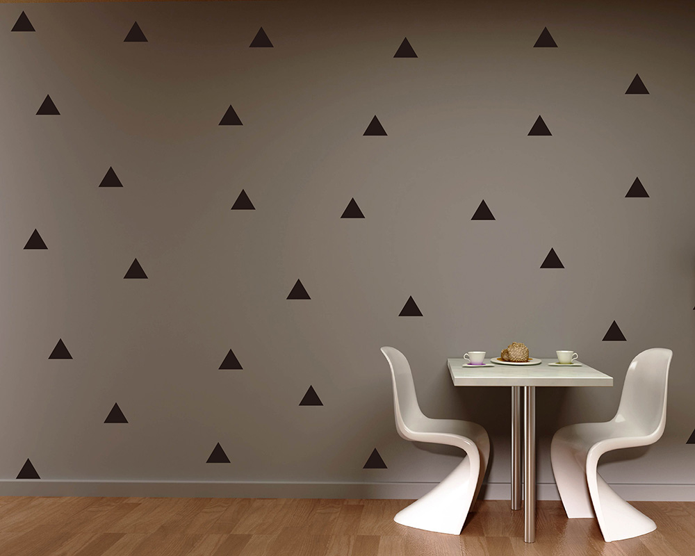 vinyl wall stickers vinyl wall art decals tree animal triangle pattern wall sticker